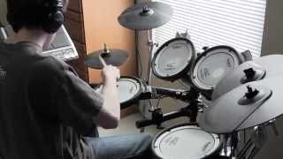 Rush - Distant Early Warning - Drum Cover (Tony Parsons)