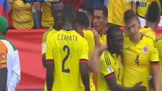 Colombia vs Brasil (1-1) Eliminatorias Sudamericanas Rusia 2018 Fecha 16