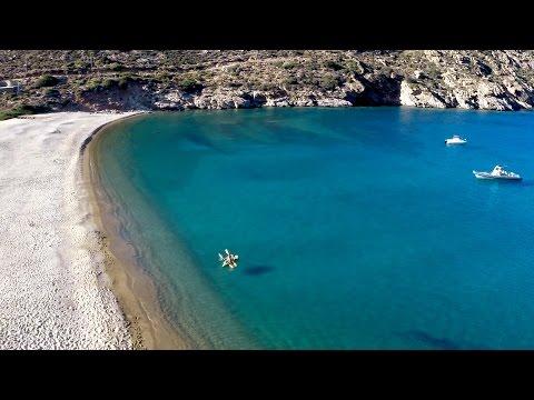Ios Island fantastic beaches, Kalamos, Tris Eklisies & Papas