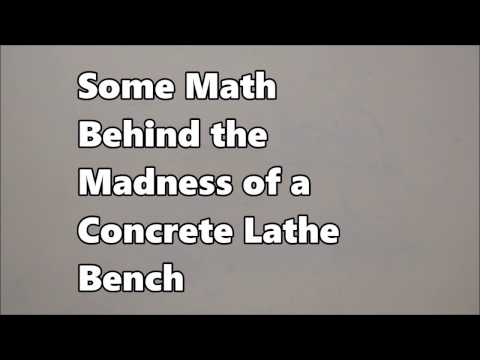 Math Behind the Madness: Concrete Bench