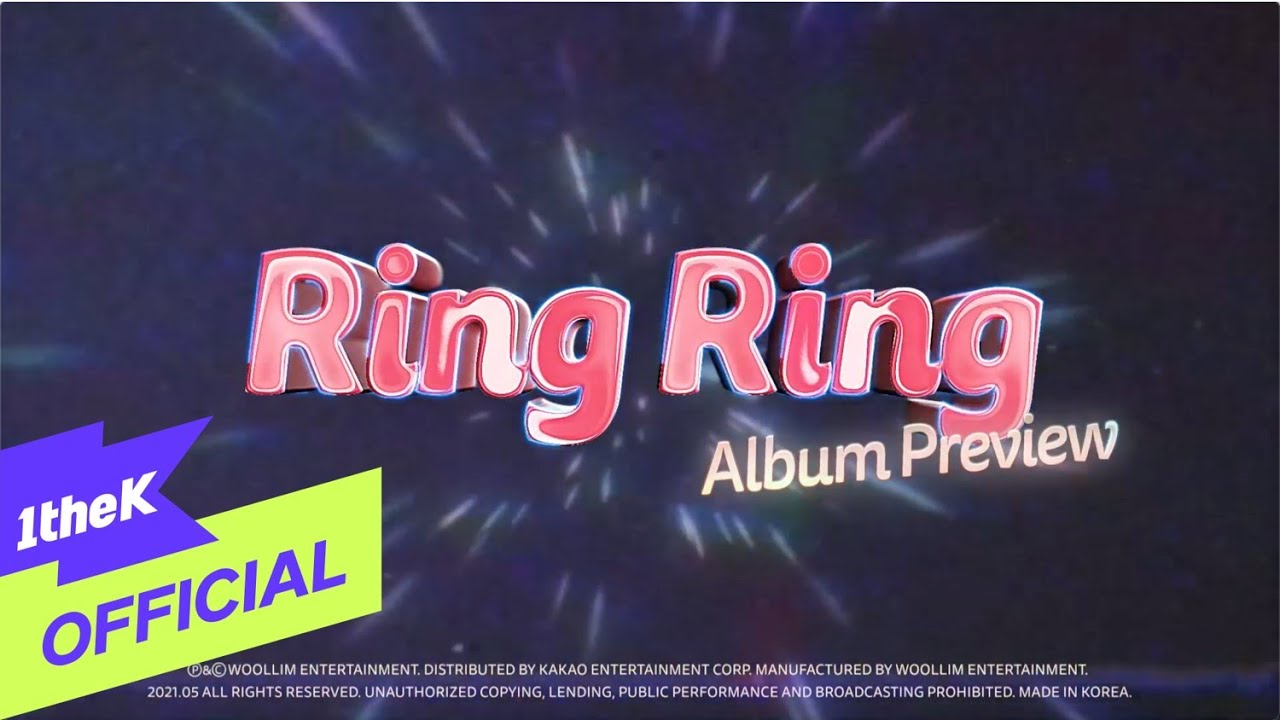 [Album Preview] 로켓펀치(Rocket Punch) 1st Single Album 'Ring Ring'