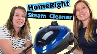 Home Right Steam Cleaner |  See it in Action!