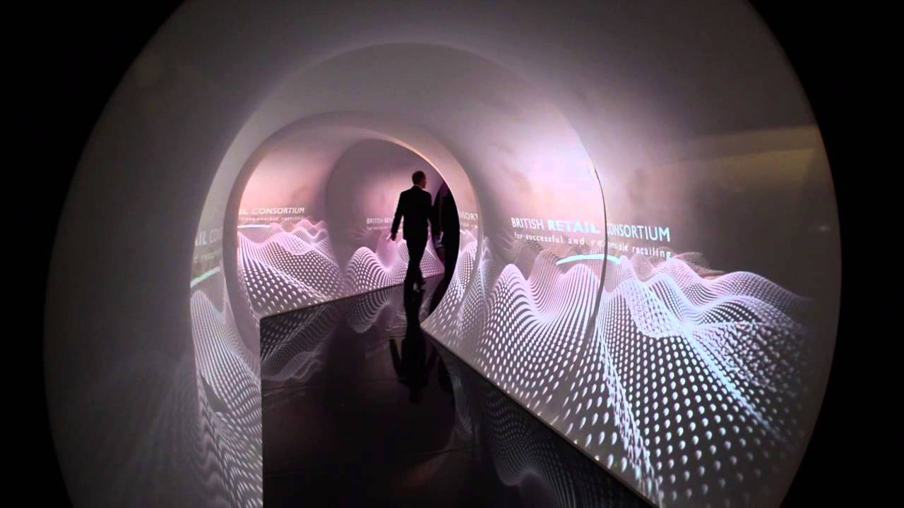 Projection Tunnel by EPS  YouTube