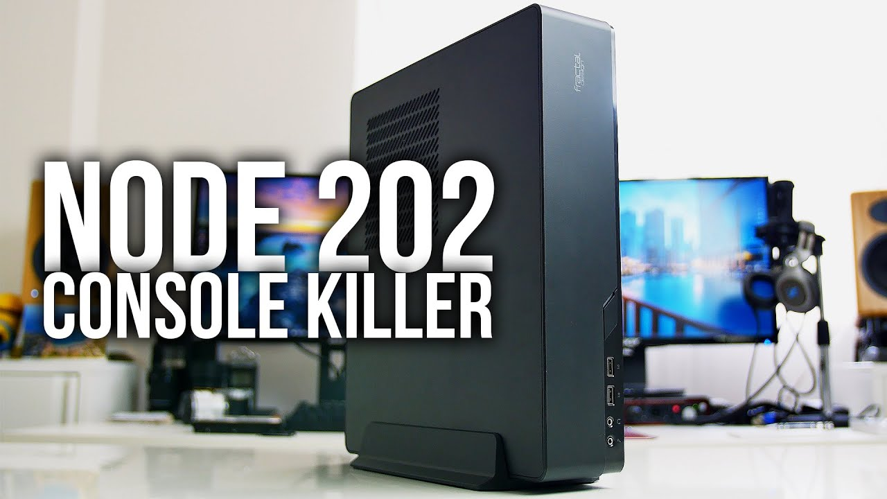 Fractal Design NODE 202 - Console Killer ITX Gaming Case ...