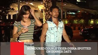 Rumoured Couple Tiger Disha Spotted On Dinner Date
