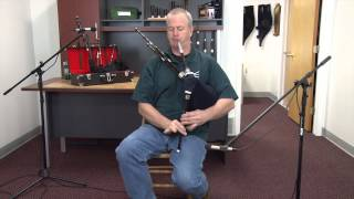 "Hornpipe on McCallum Blackwood Smallpipes in ""A"""