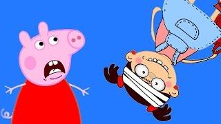 Пеппа предупреждала, но ОНА разбила лоб Мульт свинка Пепа