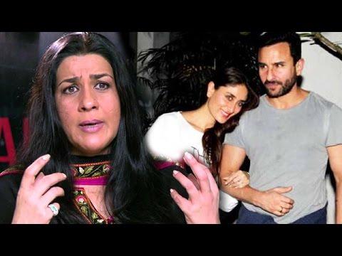 Saif Ali Khan's Ex Wife ANGRY On Kareena Kapoor's ...Saif Ali Khan Wife