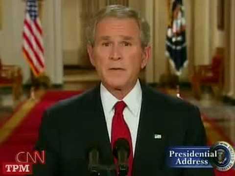 President Bush Addresses Nation on Economic Crisis
