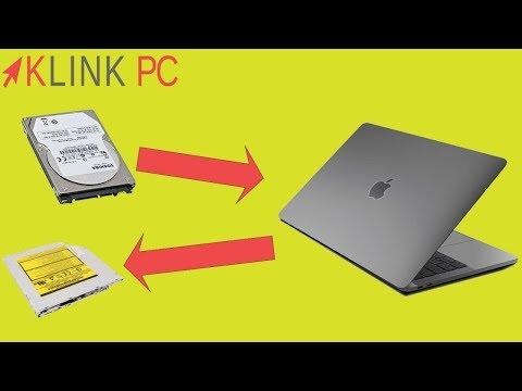 Comment remplacer le lecteur cd par un disque dur sur MacBook ?