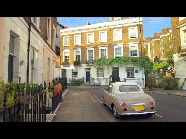 Walking London's Battersea ➜ Pimlico ➜ Westminster