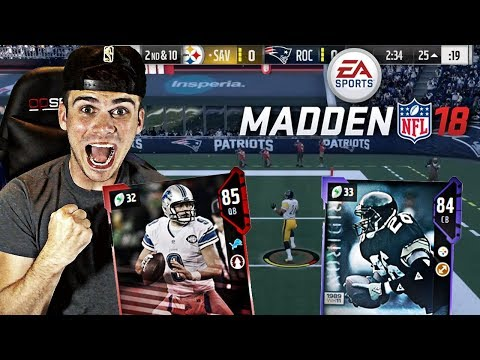 GOD SQUAD DEBUT WILL GO UNDEFEATED IN MUT CHAMPIONS! ROD WOODSON PICK 6! | MADDEN 18 ULTIMATE TEAM
