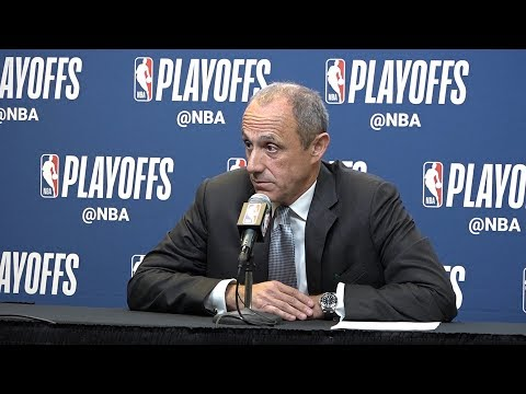 Spurs' Ettore Messina on Game 4 win over the Warriors