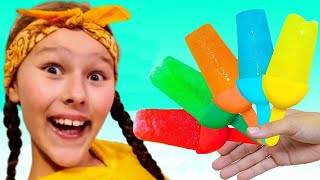 Ice Cream Song   Delicious ice creams  - Nursery rhymes & Kids songs by Miss Emi