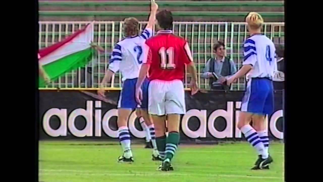 Magyarország-Finnország | 1-0 | 1996. 09. 01 | MLSZ TV Archív