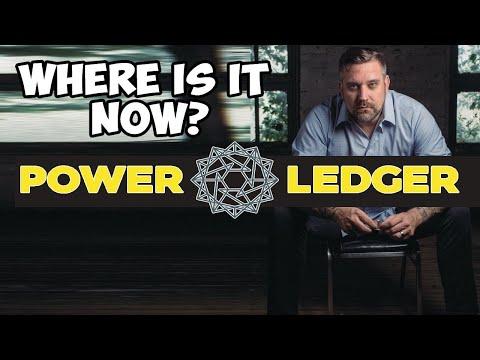 Where Is It Now? POWER LEDGER - Democratized Power