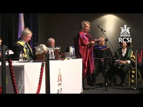 RCSI Diploma, Masters and Doctoral Degree November Conferring Ceremony - Friday 6th November 2015