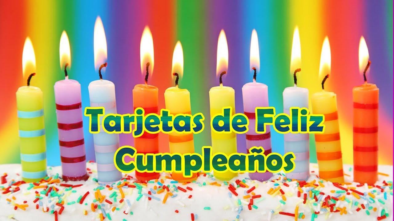 Tarjetas De Feliz Cumpleaños Gratis Youtube
