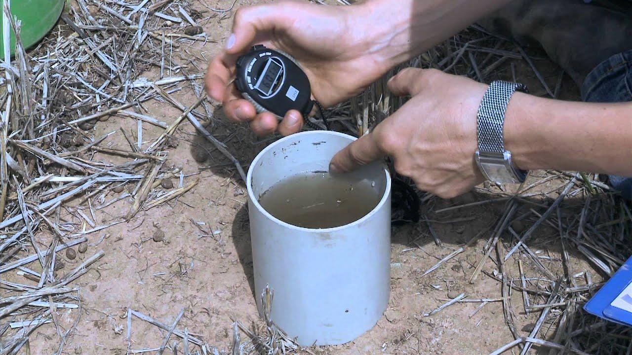 soil test 3 how to measure infiltration youtube. Black Bedroom Furniture Sets. Home Design Ideas