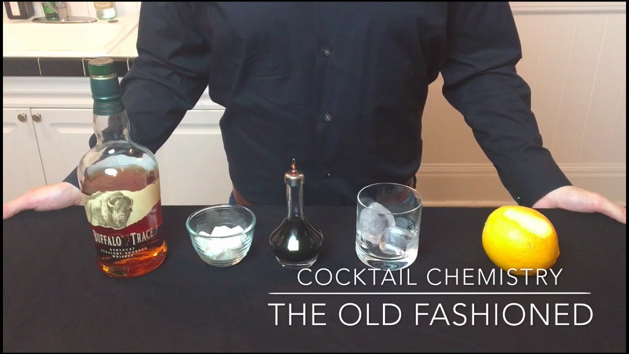 How To Make An Old Fashioned — Cocktail Chemistry