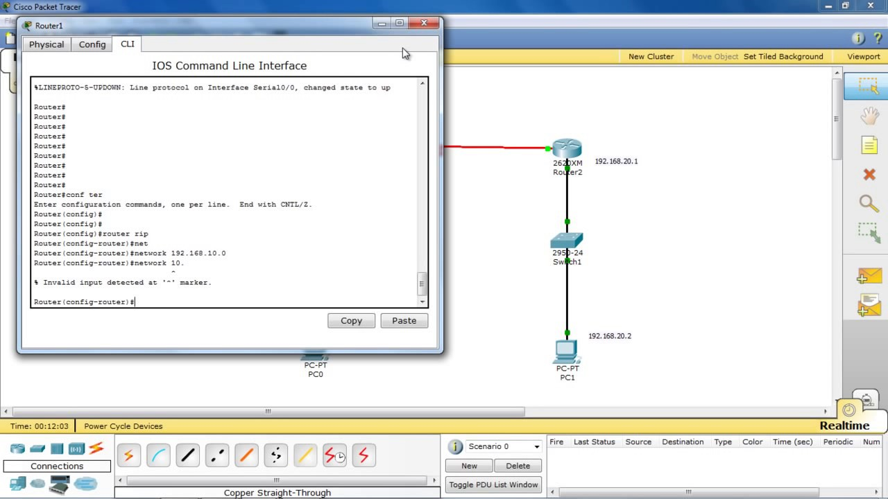 Telnet Remote Access On Cisco Router Packet Tracer Step By