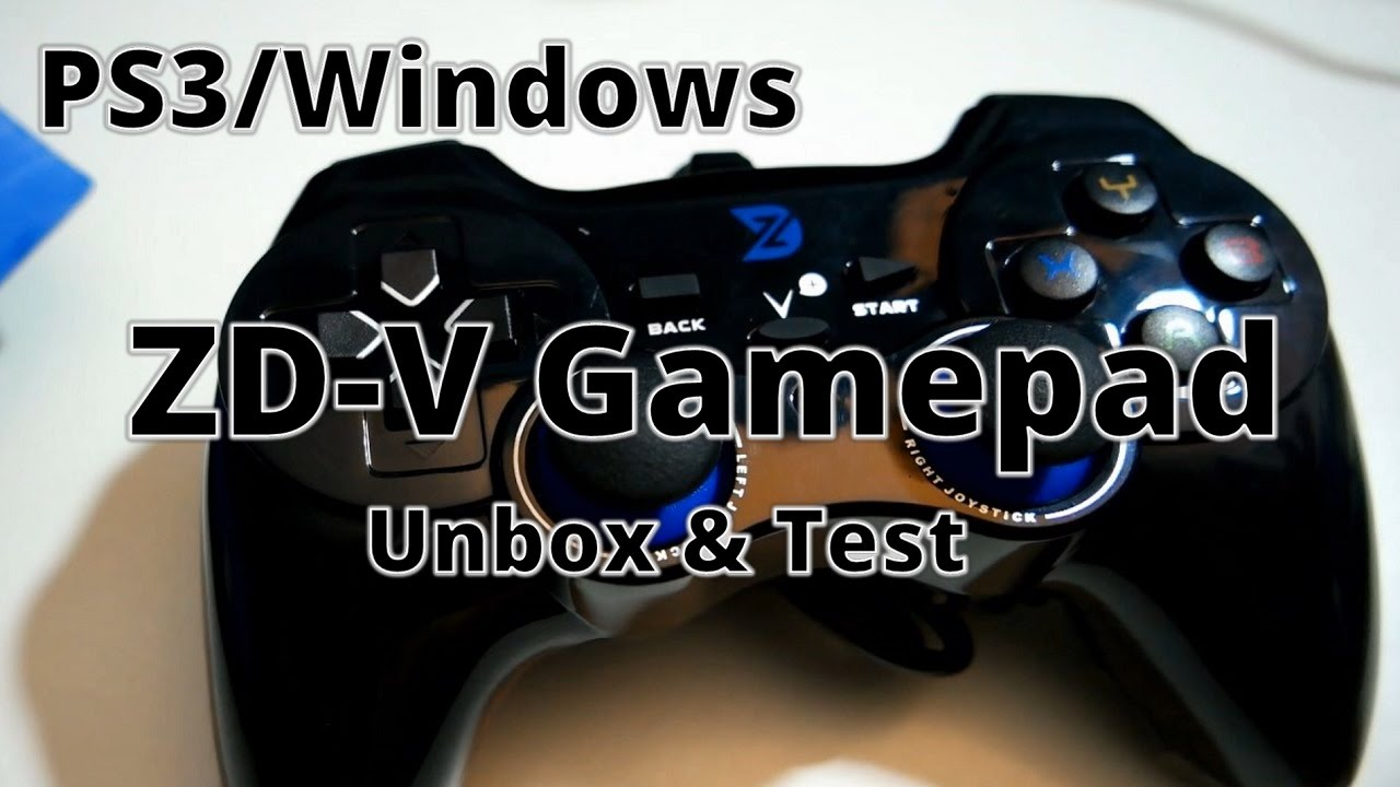 Zd V Usb Wired Gamepad Unbox Test Youtube Logitech F310 Controller