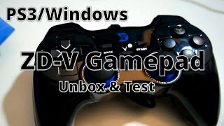 Зд-V з USB провідний геймпад: Розпакування і тест