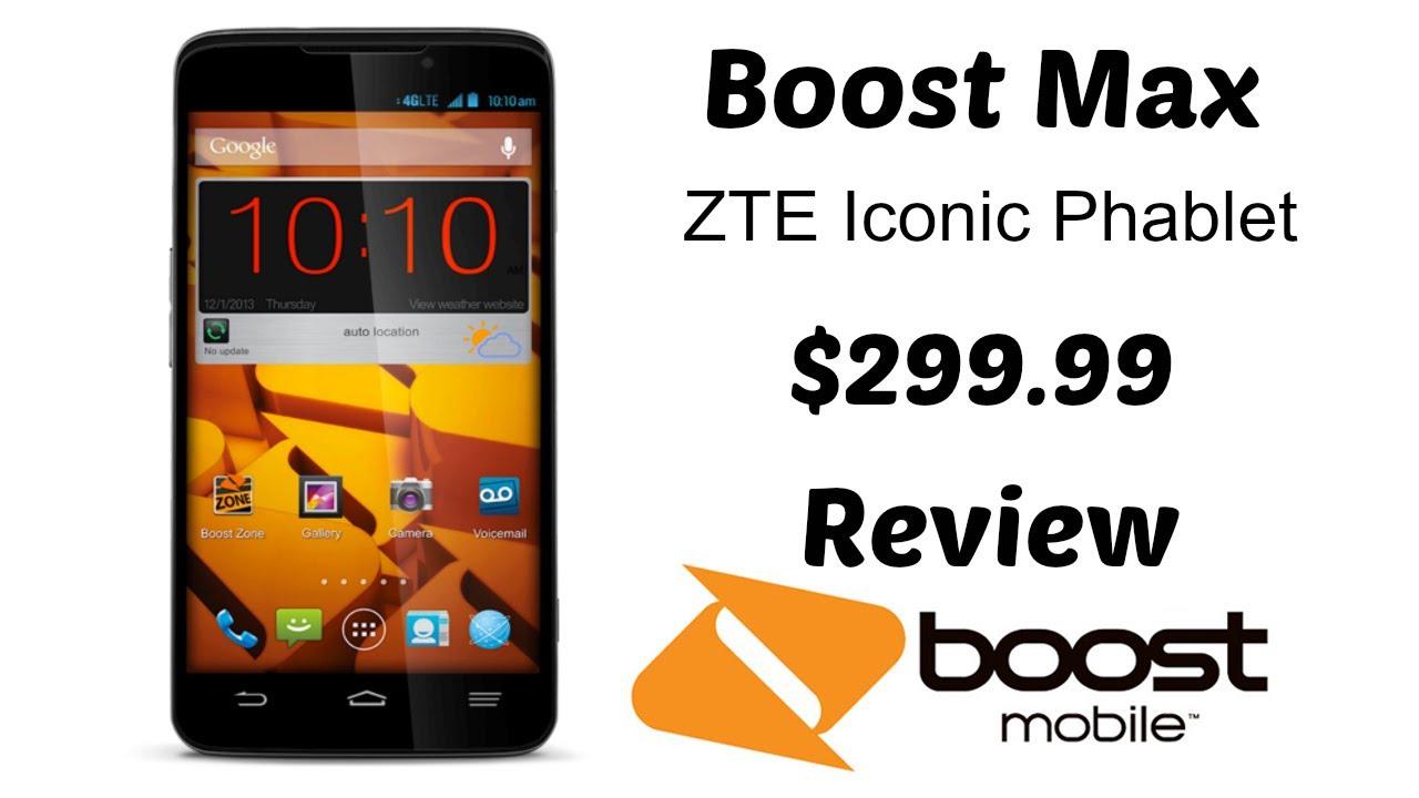 having zte max plus boost mobile has