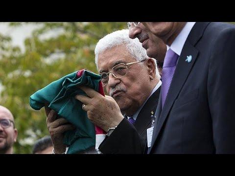 Erstmals Palästinenserflagge vor UN-Gebäude aufgezogen