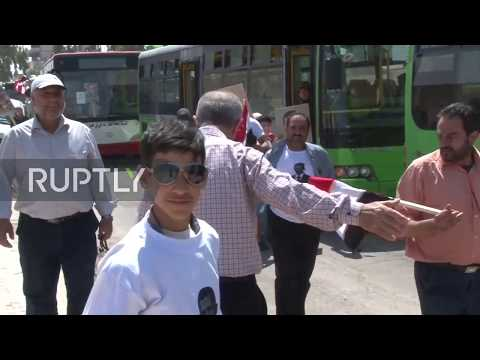 Syria: Hundreds Of Displaced Families Return To Home City Of Al-Qusayr