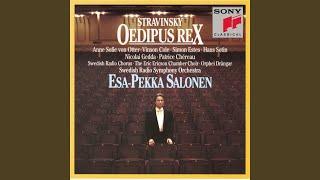 """Oedipus Rex - Opera-Oratorio in 2 Acts: Prologue: """"Spectateurs! Vous allez entendre une version..."""