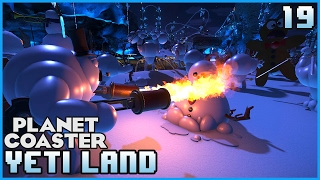 Creating The Great War!!! Lets Play: Yeti land 19 #PlanetCoaster