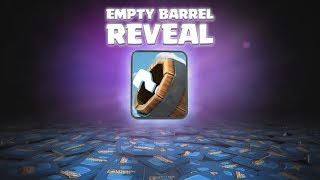 Clash Royale EMPTY BARREL REVEAL! (CLASH ROYALE CARD CONCEPT)