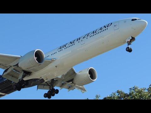Air New Zealand Boeing 777-300ER [ZK-OKO] Landing In LAX