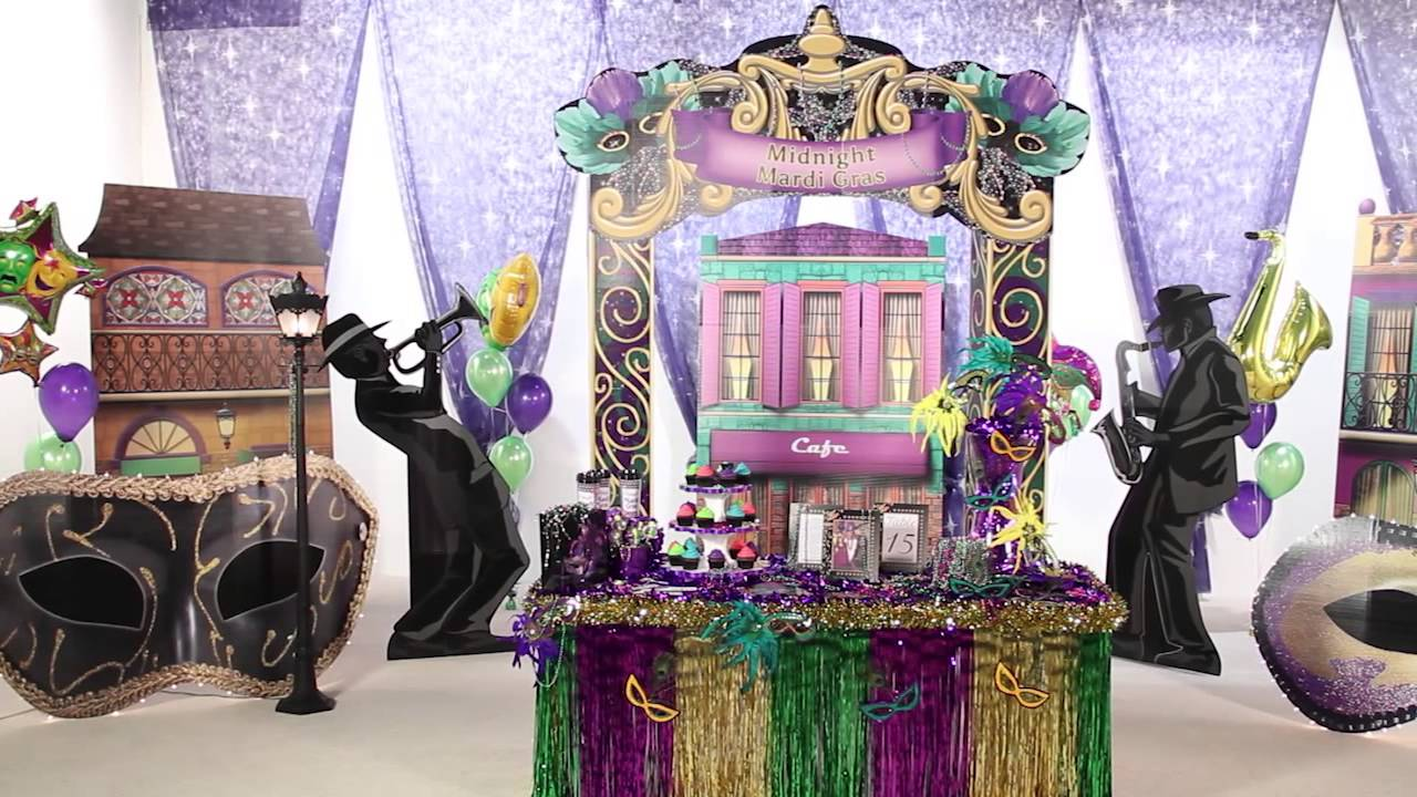 How to Host a Mardi Gras Masquerade Party - Shindigz Party Supplies - YouTube & How to Host a Mardi Gras Masquerade Party - Shindigz Party Supplies ...