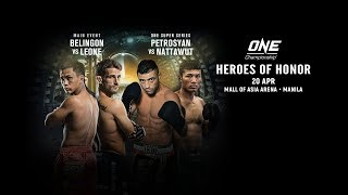 ONE Championship: HEROES OF HONOR | Full Event