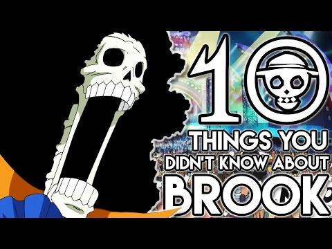 """10 Things You Probably Didn't Know About """"Soul King"""" Brook! (10 Facts) 