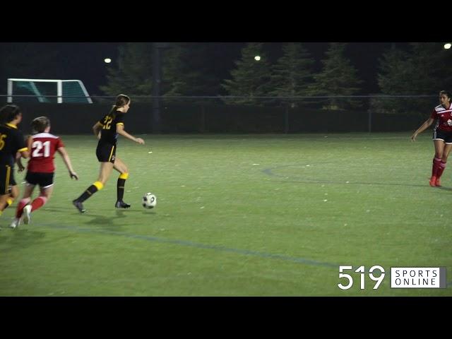 Minor Soccer (U16 Girls) - Woolwich Wolfpack vs Waterloo United