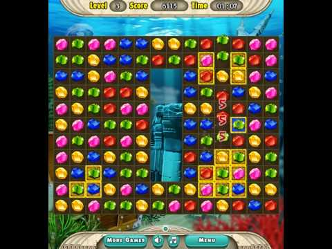 Atlantis Jewels - free game