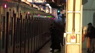 大阪環状線 大阪駅 201系 発車