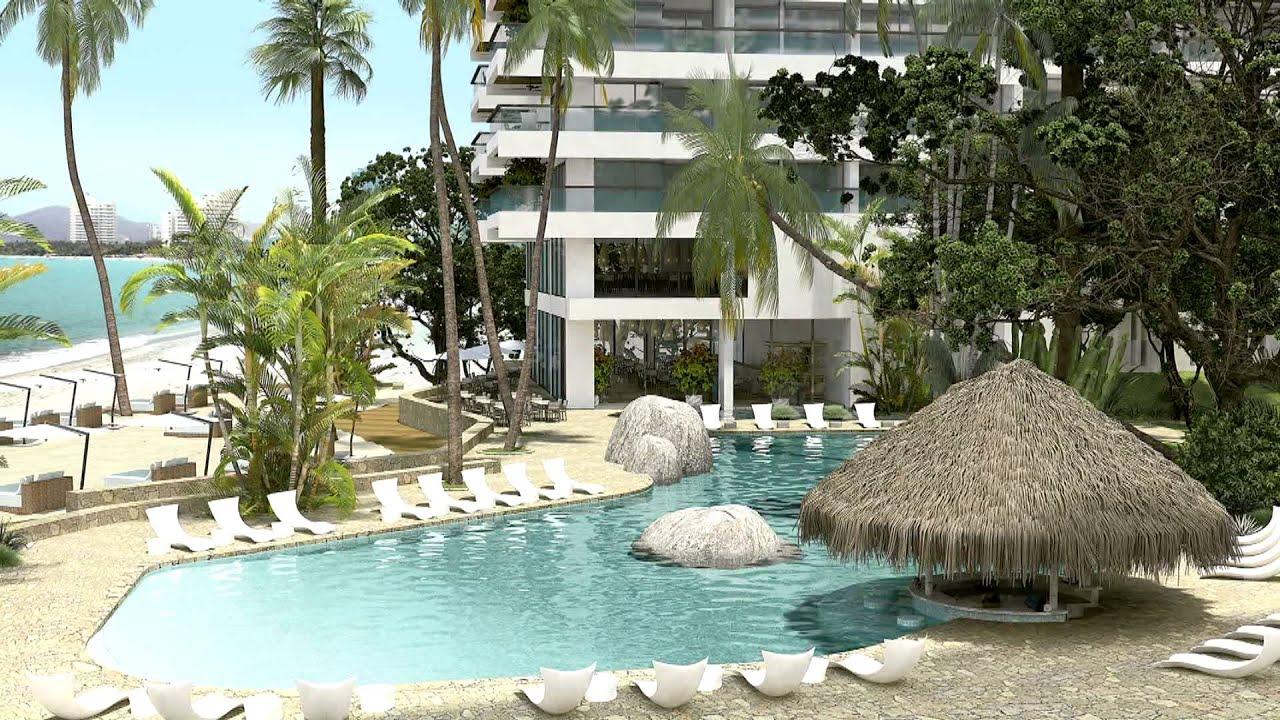 Makaira apartamentos de lujo frente al mar en venta en santa marta youtube - Apartamentos en cullera para vacaciones ...
