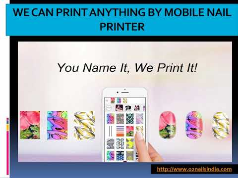 Buy Mobile Nail Printer and Nail Printing Machine Online by O2Nails India