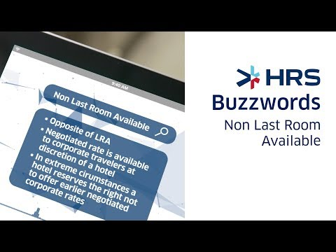 HRS Buzzword videos and text: get to understand the lingo | HRS