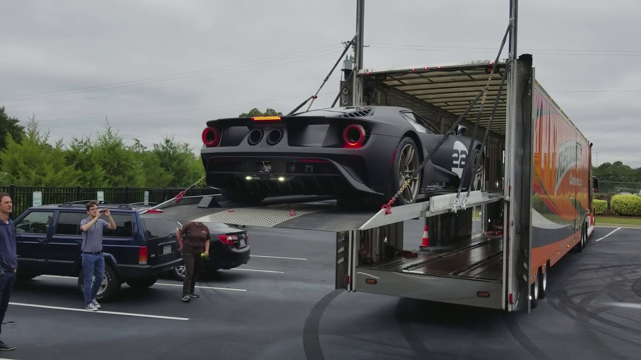 Check Out The New Ford Gt Thanks Mr Logano
