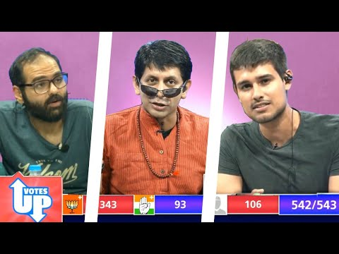 Votes Up: LIVE Election Results with Dhruv Rathee, Kunal Kamra and Akash Banerjee
