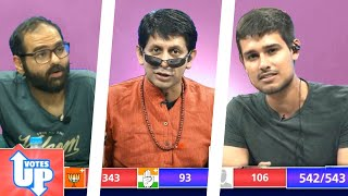 Votes Up: LIVE Election Results with Dhruv Rathee, Kunal Kamra and Akash Banerjee