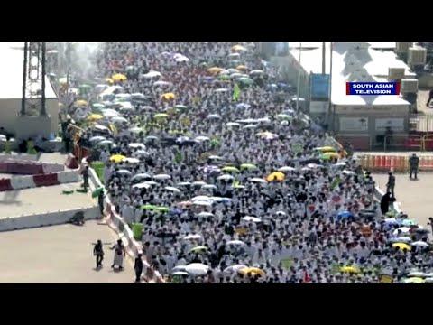 Hajj pilgrimage in Mecca | 2015 | Stoning of devil in Mina |Stampede|Eid al Adha