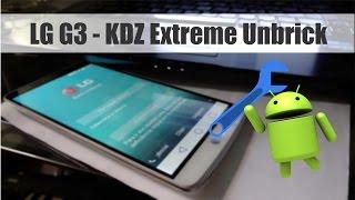 LG G3 - KDZ -Unbrick e Downgrade