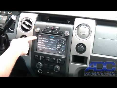 Advent OE Navigation For Ford F-150: Bootup & System Settings