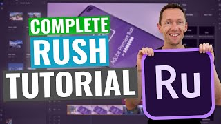 Adobe Rush Tutorial [UPDATED] - H๐w to Edit Videos with Premiere Rush!